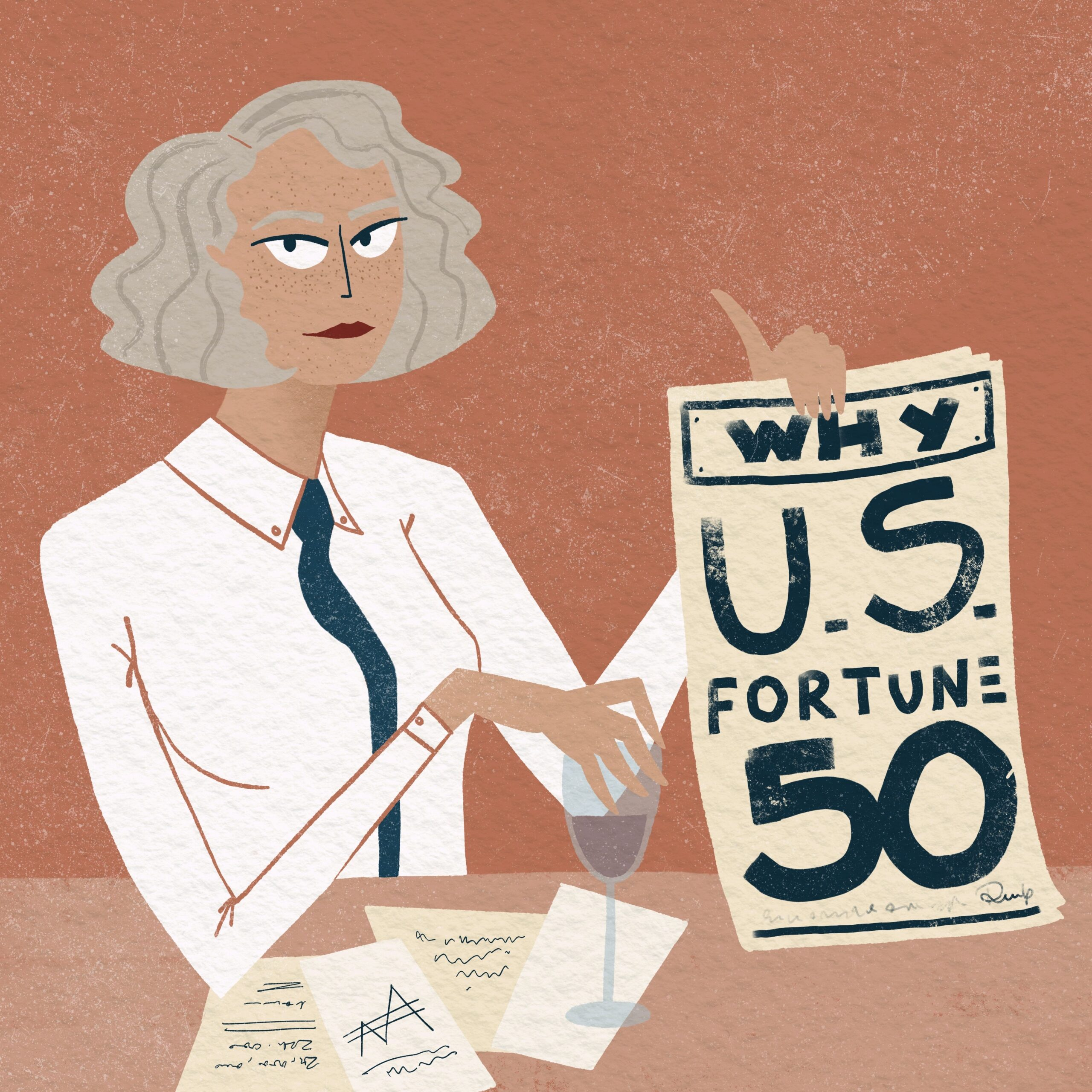 What about women designers in the C-suite of large corporations?